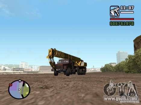 KrAZ-250 MKAT-40 for GTA San Andreas