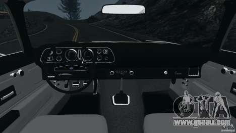 Chevrolet Camaro 1970 v1.0 for GTA 4 back view