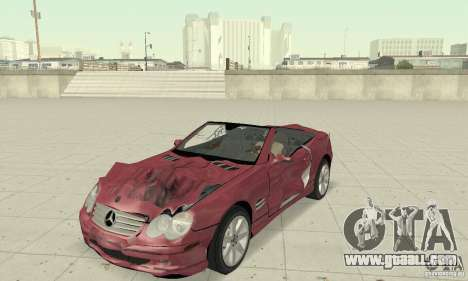 Mercedes-Benz SL500 (R230) for GTA San Andreas side view