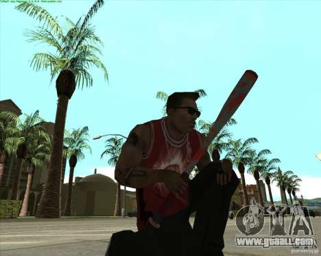 Blood Weapons Pack for GTA San Andreas forth screenshot