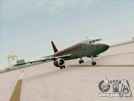 Airbus A319 Easyjet for GTA San Andreas