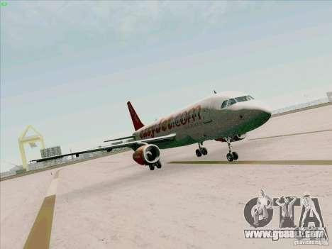 Airbus A319 Easyjet for GTA San Andreas