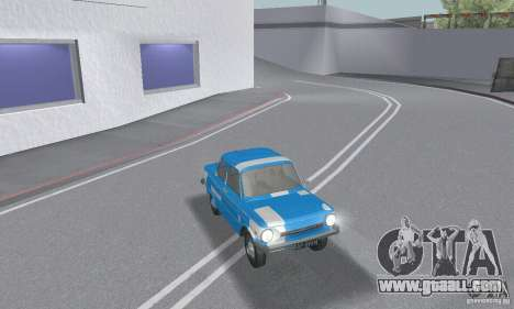 ZAZ 968 m tattered for GTA San Andreas interior