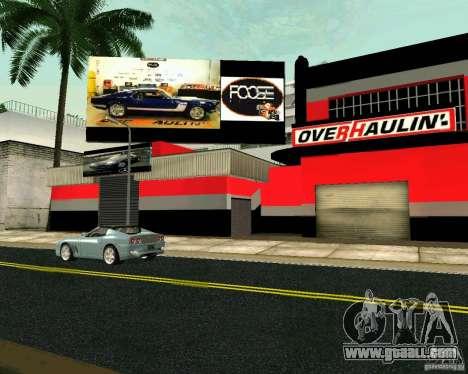 OVERHAULIN Workshop for GTA San Andreas third screenshot