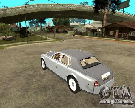 Rolls-Royce Phantom (2003) for GTA San Andreas left view