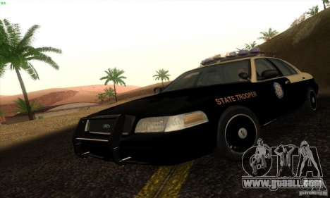 Ford Crown Victoria Florida Police for GTA San Andreas