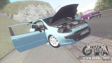 Fiat Punto for GTA San Andreas back left view