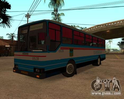 Autosan H10-11B full Orenburg stickers for GTA San Andreas left view
