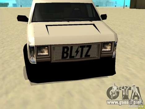 Burrito by W1nstoN for GTA San Andreas back left view
