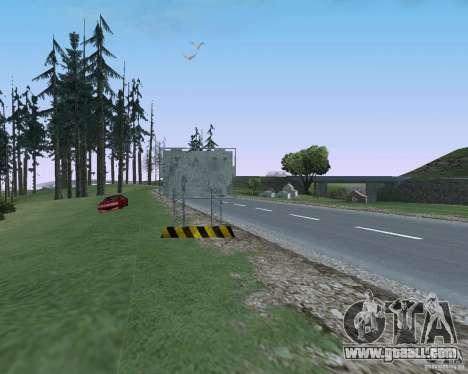 Road signs v1.1 for GTA San Andreas seventh screenshot