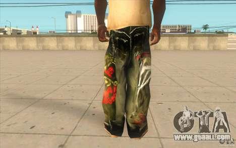 Hip-hop jeans for GTA San Andreas third screenshot