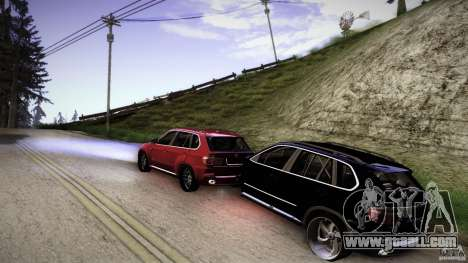 BEAM X5 Trailer for GTA San Andreas left view