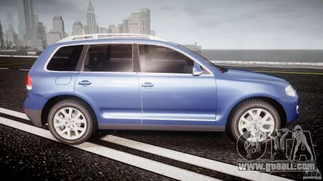 Volkswagen Touareg 2008 TDI for GTA 4 side view