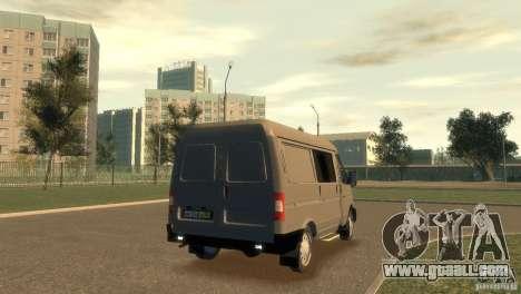 GAZ 2752 Sobol for GTA 4 left view