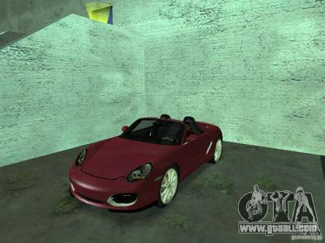 Porsche Boxster for GTA San Andreas back view