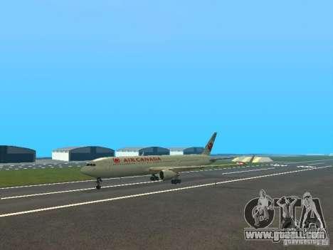 Boeing 767-300 Air Canada for GTA San Andreas