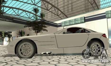 Mercedes-Benz McLaren V2.3 for GTA San Andreas