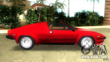 Lamborghini Jalpa P350 1984 for GTA Vice City left view