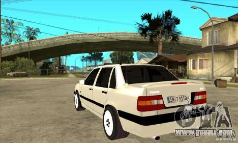 Volvo 850 Turbo for GTA San Andreas back left view