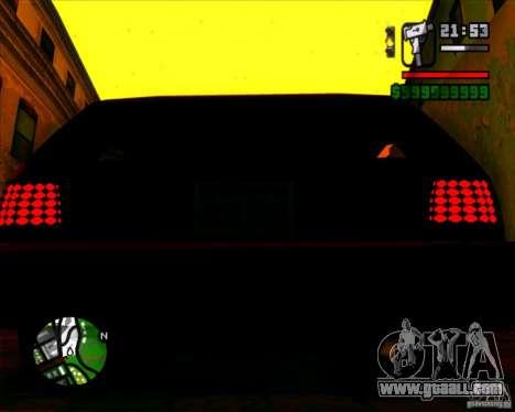 New headlights and windscreen for GTA San Andreas fifth screenshot