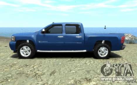 Chevrolet Silverado 2008 for GTA 4 left view