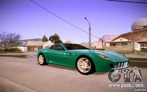 Ferrari 599 GTB Fiorano 2010 for GTA San Andreas left view