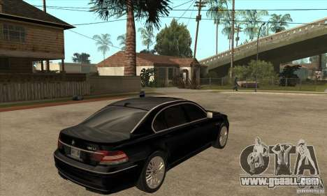 BMW 760Li (e66) SE for GTA San Andreas right view