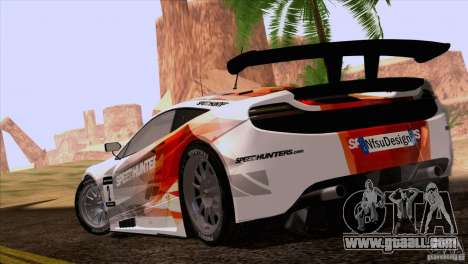 McLaren MP4-12C Speedhunters Edition for GTA San Andreas left view