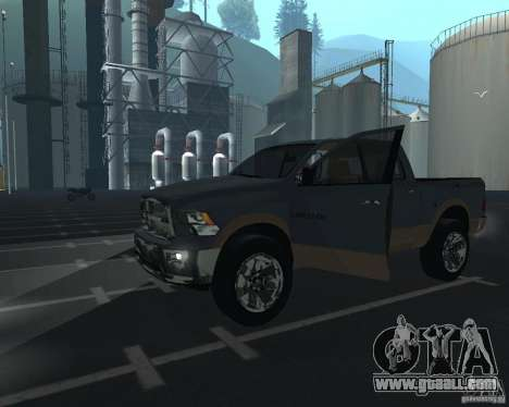 Dodge Ram Hemi for GTA San Andreas left view