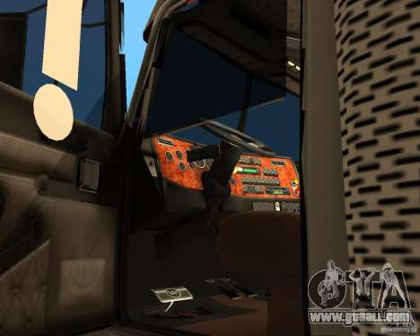 Western Star 4900EX v 0.1 for GTA San Andreas right view