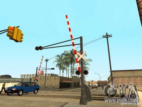 RAILWAY Crossing RUS for GTA San Andreas third screenshot