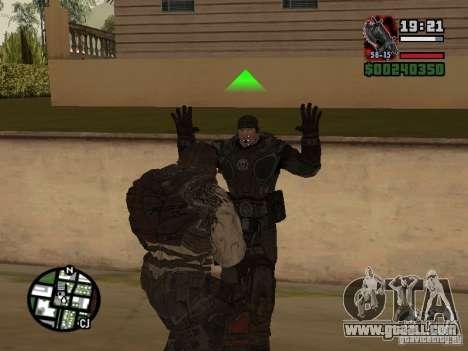 Lokast Grunt from Gears of War 2 for GTA San Andreas forth screenshot