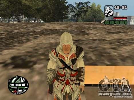 Ezio auditore de Firenze for GTA San Andreas