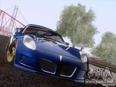 Pontiac Solstice Redbull for GTA San Andreas left view