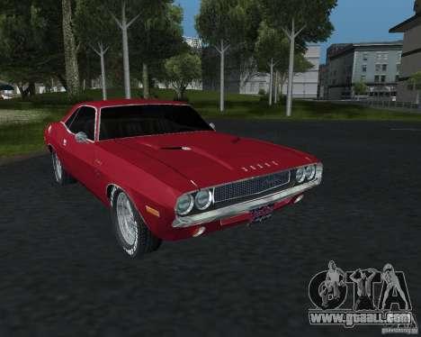 Dodge Challenger V1.0 for GTA San Andreas