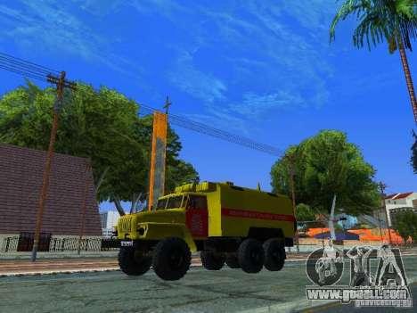 Ural 4320 GORSVET for GTA San Andreas