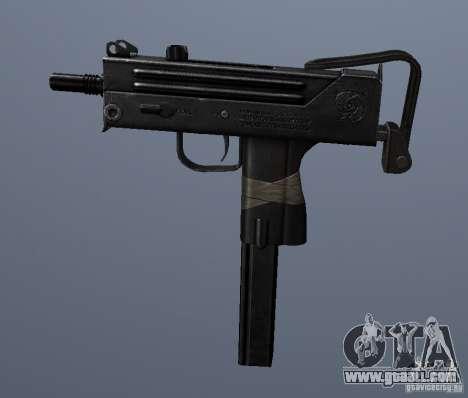 MAC10 for GTA San Andreas third screenshot
