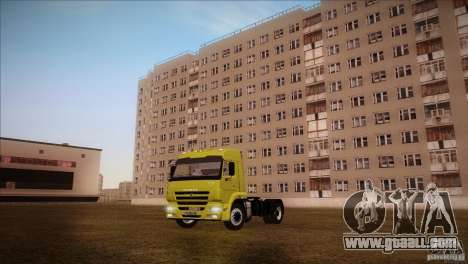 KAMAZ 5460 Restyling for GTA San Andreas