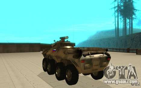 BTR-90 for GTA San Andreas back left view