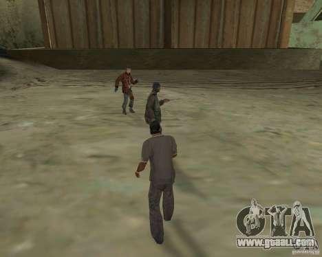 Barney homeless for GTA San Andreas third screenshot