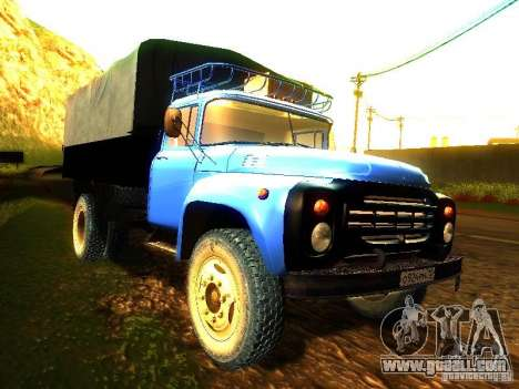 ZIL 431410 for GTA San Andreas right view