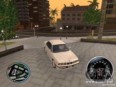 BMW E34 540i for GTA San Andreas right view