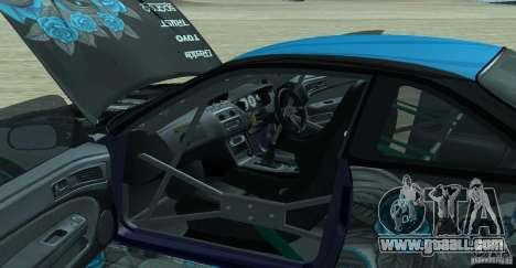 Nissan Silvia S14 NonGrata for GTA San Andreas right view