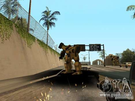 Transformers for GTA San Andreas third screenshot