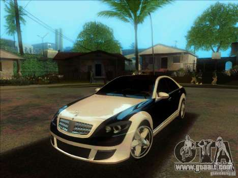 Mercedes-Benz S600 AMG WCC Edition for GTA San Andreas