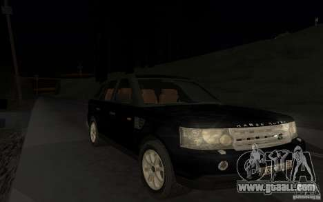 Land Rover Range Rover for GTA San Andreas side view