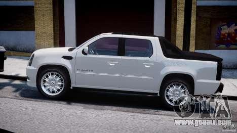 Cadillac Escalade Ext for GTA 4 back view