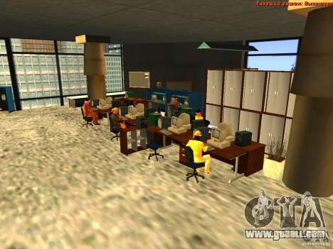 20th floor Mod V2 (Real Office) for GTA San Andreas forth screenshot