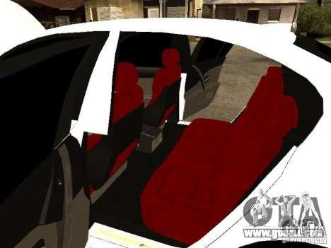 Bmw M5 Ls Ninja Stiil for GTA San Andreas inner view