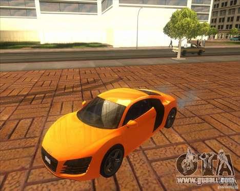 Audi R8 2007 for GTA San Andreas